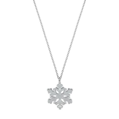 Lant argint snowflake - 5000000633890