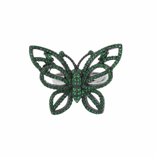 Inel argint fluture zirconiu - 599196*