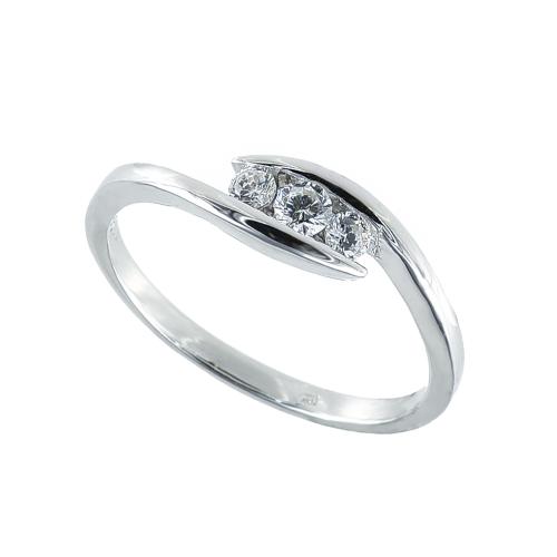 Inel argint zirconiu - 5000000684335 Argint Zirconiu