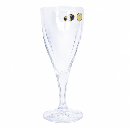 Set 6 pahare vin 220ml cristal bohemia smile - 11600/64300/220