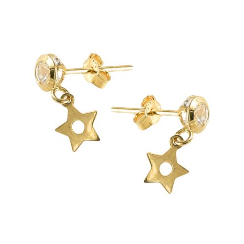 Cercei aur 14K stars - 2904247010304