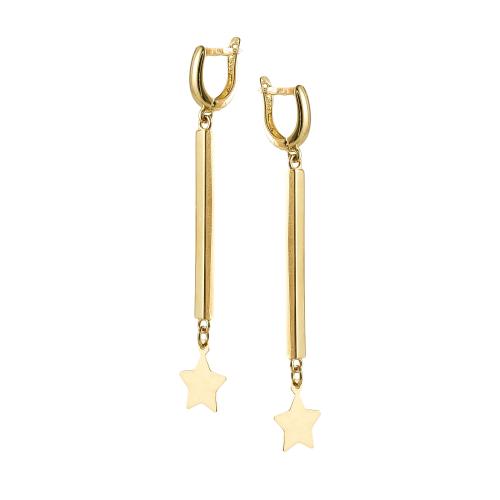 Cercei aur 14K stars - 2900990035700