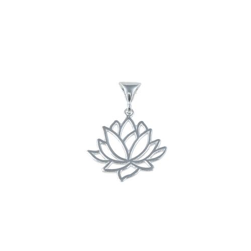 Pandant argint fleur - 5000000701148