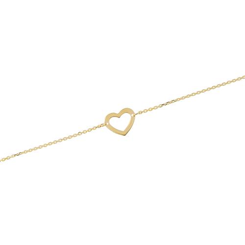 Bratara aur 14K heart - 6080000029601