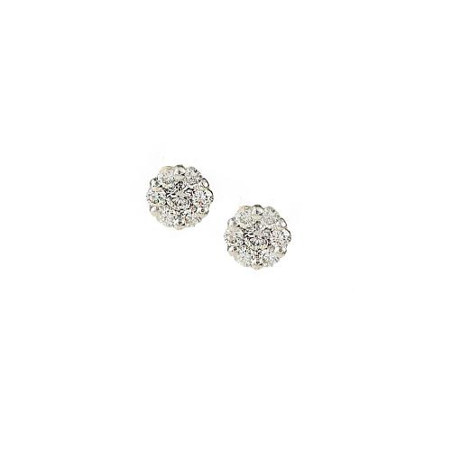 Cercei aur 18K cu diamante 0.37 F-G SI - 6011000030205