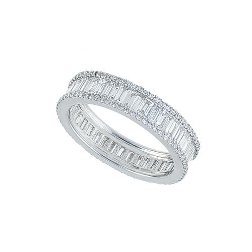 Inel aur 18K cu diamante 0.53 G VS 1.61 G VS - 6012000022641