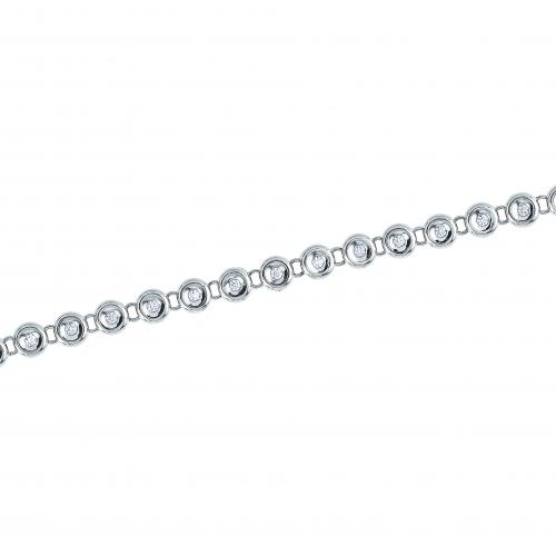 Bratara aur 18K cu diamante 0.5 H SI - 6090000087518