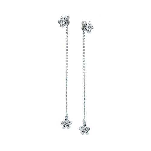 Cercei aur 14k fleur- 2905325024800