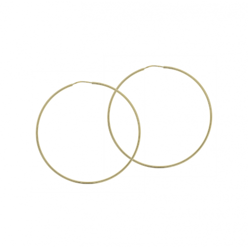 Cercei aur 14K creole - 2903516029504