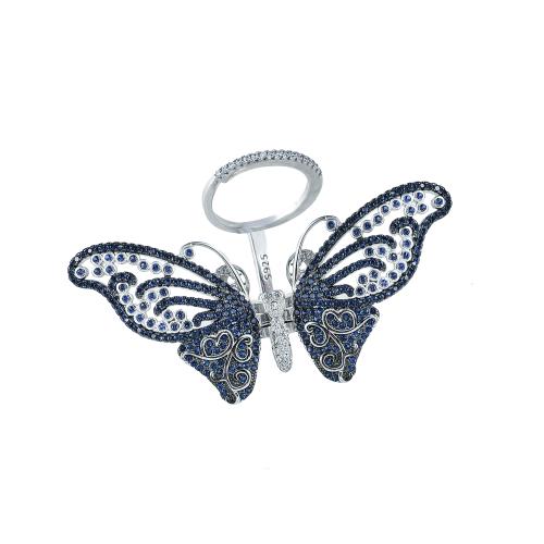 Inel argint zirconiu fluture - 5000000592500 20