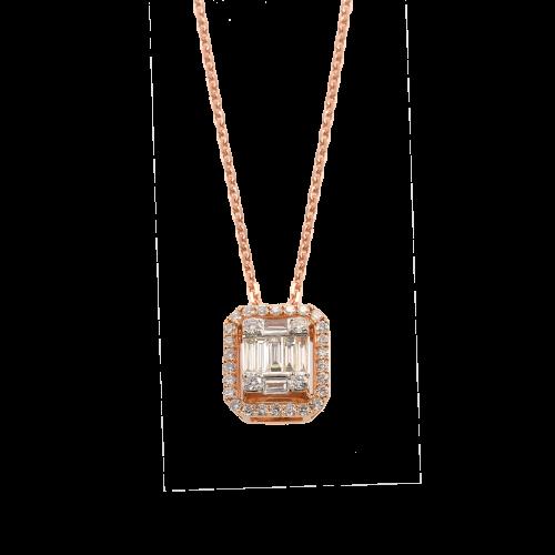 Lant aur 18K cu diamante 0.28 G VSSI- 6020000035172