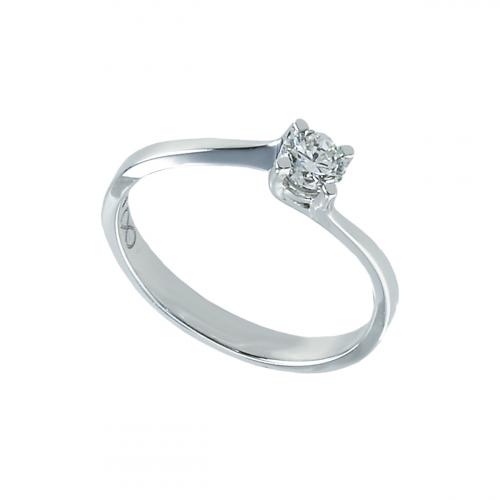 Inel aur 18K cu diamante 0.31 G VS - 6020000035325