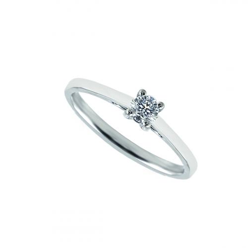 Inel logdna aur 18K cu diamante 0.19 E-F SI - 6012000064313
