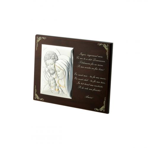 Tablou religios ob. argintat  - 7700000016997