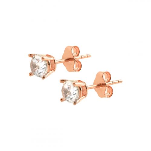 Cercei aur 14K rose  - 2901083010208