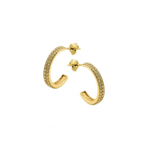 Cercei aur 14k  elegant - 2920877024405