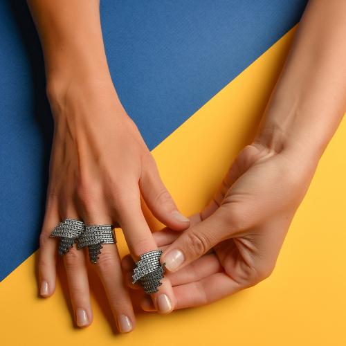 Inel argint zirconiu elegant - 5000000602117