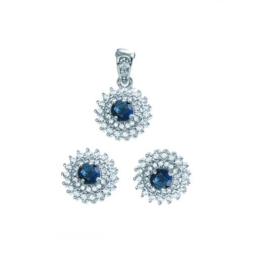Set argint zirconiu elegant - 5000000731602