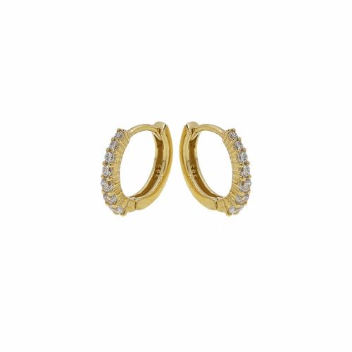 Cercei aur 14k copii pietre zirconiu - 2900348016900